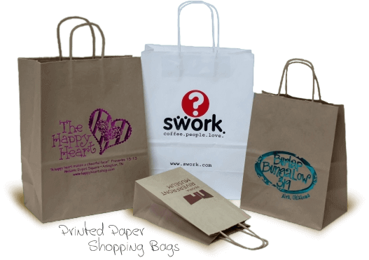 Tc Bag And Label Printed Labels Shopping Bags Printed