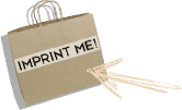 Free Printing Offer on Shopping Bags, Boxes and More (Kraft Bag w/ Handles)