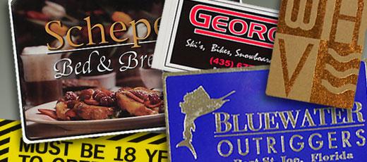 Custom Printed Ink Sticker / Foil Labels