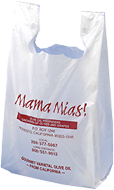 Mama Mia's Plastic Shopping Bag