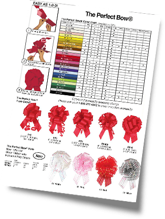Perfect Bows Color Chart Small
