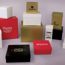 Post Printed Boxes Hot Foil Stamped