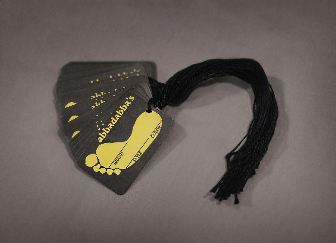 String Tags (Hang Tags/Clothing Tags) Custom printed tags